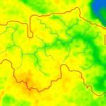 определение площади водосбора